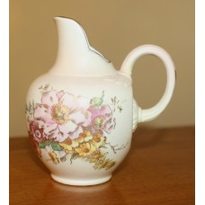 Royal Worcester 250th Anniversary Small Blush Ivory Flat-Back Victorian Style Jug