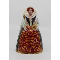 Royal Worcester Queen Elizabeth I Candle Snuffer P.Stanley