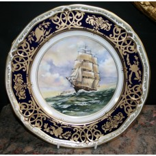 """Royal Worcester """"Cutty Sark"""" Plate"""