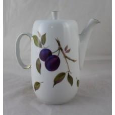 Royal Worcester Evesham Pattern Coffee Pot