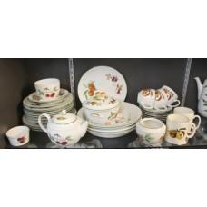 Royal Worcester Evesham Vale Pieces Part Service
