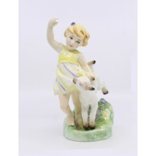 Royal Worcester Months of the Year Figurine April 3416