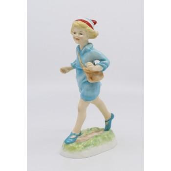 Royal Worcester Figurine Hometime
