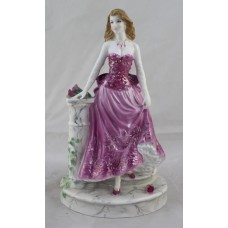 Royal Worcester Precious Moments Figurine Midnight Rendezvous