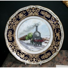 """Royal Worcester """"Great Northern Railway"""" Plate"""