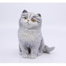 Royal Worcester Kittens Sculpture Blue Persian
