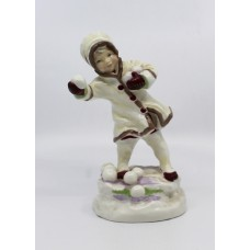 Royal Worcester Months of the Year Figurine December 3458