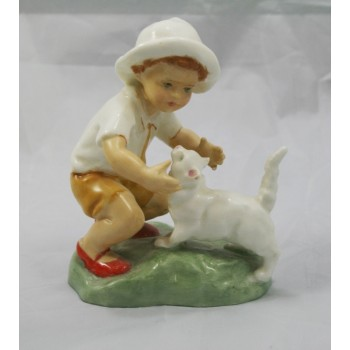 Royal Worcester Figurine 'Snowy' 3457 by F.G.Doughty