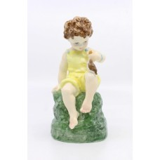 Royal Worcester Figurine Friday's Child Girl
