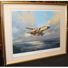 "Signed Limited Edition Framed Print ""Operation Desert Storm 1991"" Frank Wootton"