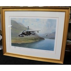 "Signed Limited Edition Gerald Coulson ""High Speed Intrusion"" Tornados Print"