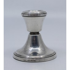 Small Sterling Silver Candlestick Birmingham 1982
