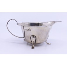 Solid Silver Sauce Boat Sheffield 1932
