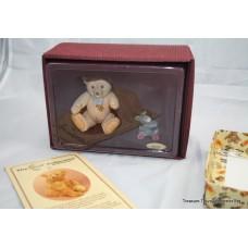 Steiff 1950 Jackie Bear Porcelain Figurine