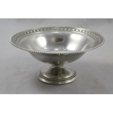 Sterling Silver Bonbon Dish Sheffield 1950
