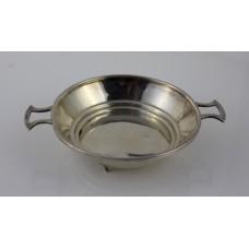 Sterling Silver Two Handled Bowl Quaich Birmingham 1935