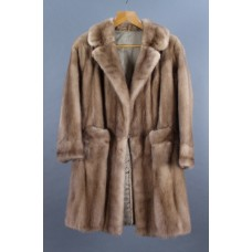 Three Quarter Length Vintage Pastel Mink Coat
