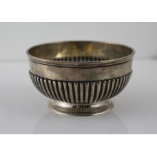 Victorian Sterling Silver Bowl Dobson Piccadilly London 1877
