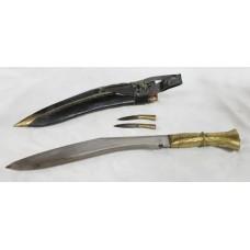 Vintage Brass Gurkha Kukri Knife