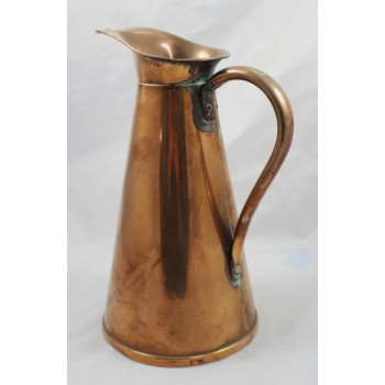Vintage English Copper 4 Pint Jug by J.S & S