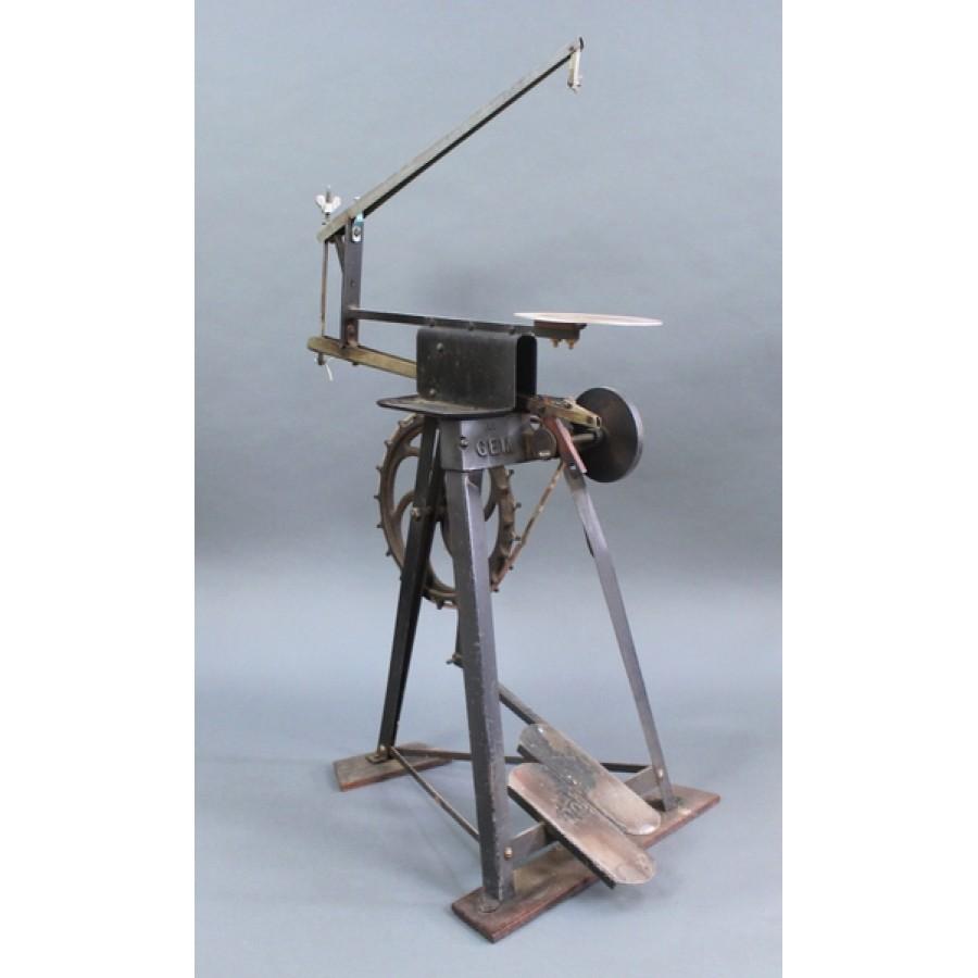 Awe Inspiring Vintage Pedal Powered Hobbies Jigsaw Machost Co Dining Chair Design Ideas Machostcouk