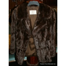Vintage Faulkes Red Squirrel Fur Jacket