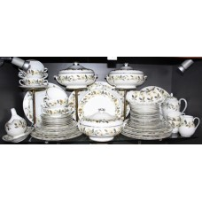 Wedgwood Beaconsfield Pattern 74 Piece Dinner Tea Service