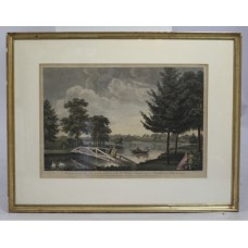 18th c. Coloured Etching by William Woollett (1735-1785)